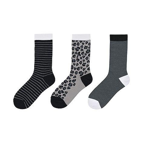 WOMEN Socks - 3 Pairs (Leopard)
