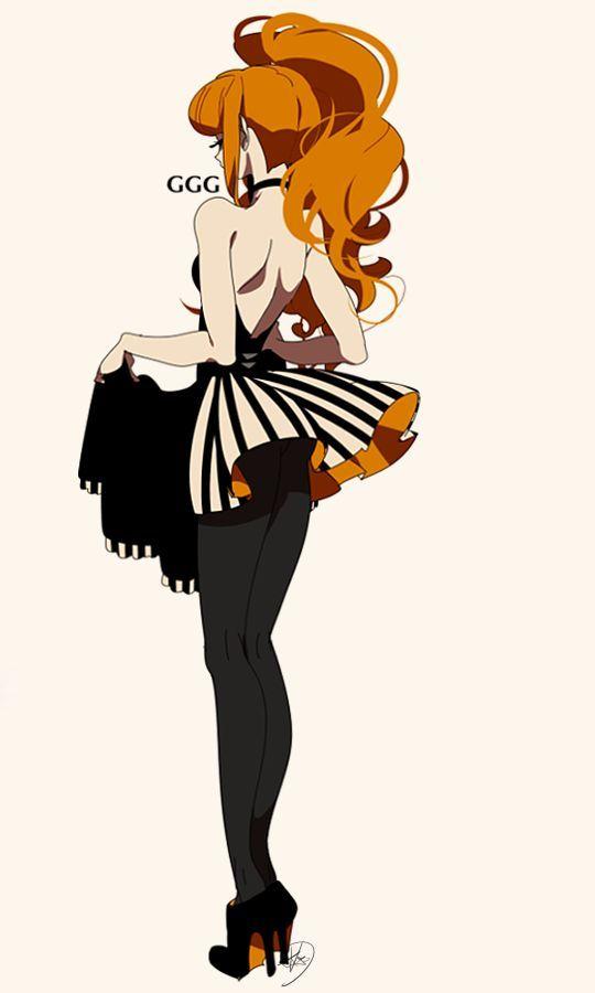 Anime Saloon Girl