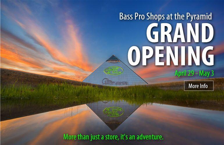 Bass Pro Shops Auburn Hills Memphis, Grand opening, Bass