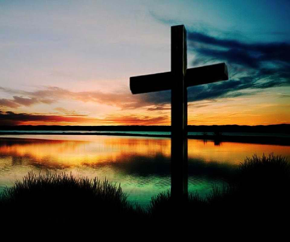 Cross Wallpapers Free: Sunset Cross. Simply Beautiful.