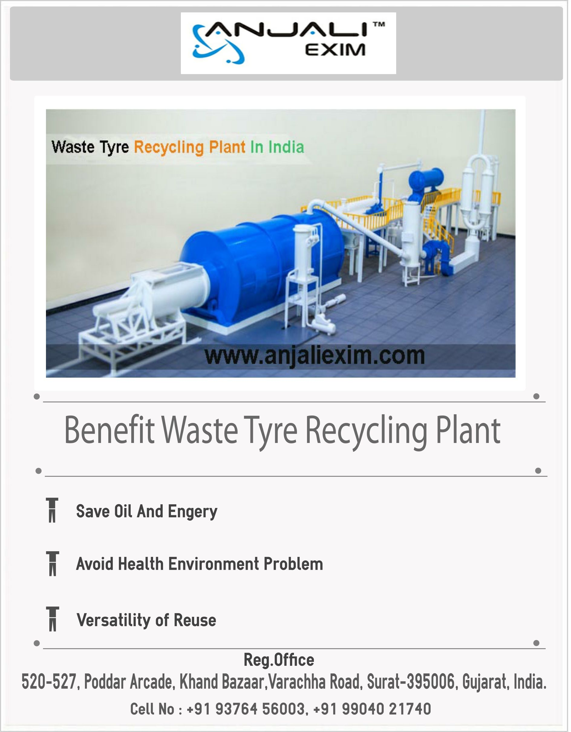 Looking for Most Valuable And Excellent Tyre Recycling Plant
