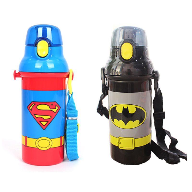 b0bdb48d76 Hero Super Man Batman Water Bottle Tumbler Picnic Cycling Boys School Child  Kids #skaterkorea