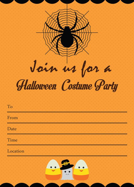 Every item on this page was curated by an elle decor editor. Spooky Halloween Costume Party Basic Invitations You Are F Halloween Party Invitation Template Halloween Party Invitations Halloween Costume Party Invitations