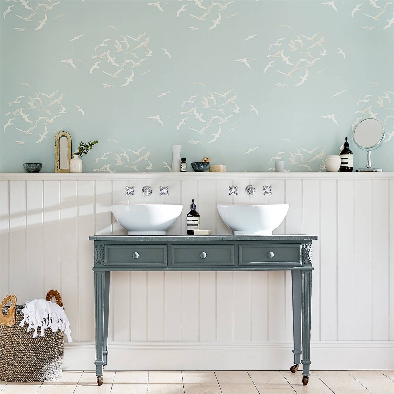 Larina 216578 Bathroom Wallpaper Trends Home Wallpaper Interior