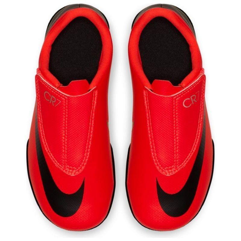 Buty Pilkarskie Nike Vapor 12 Ps Cr7 Tf Jr Aj3108 600 Pomaranczowe Nike Nike Vapor Sports 5