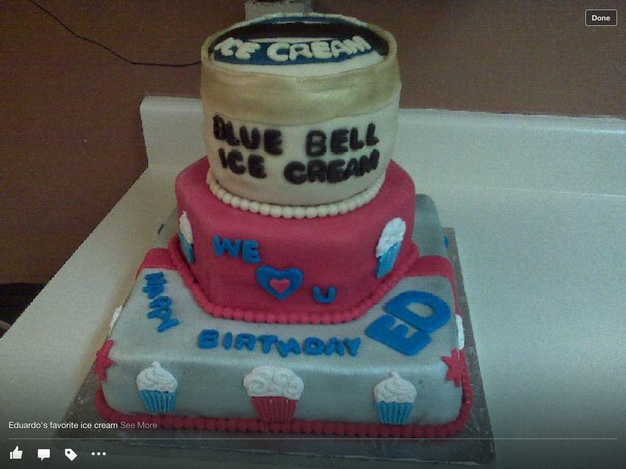 Blue bell ice cream birthday cake ice cream birthday