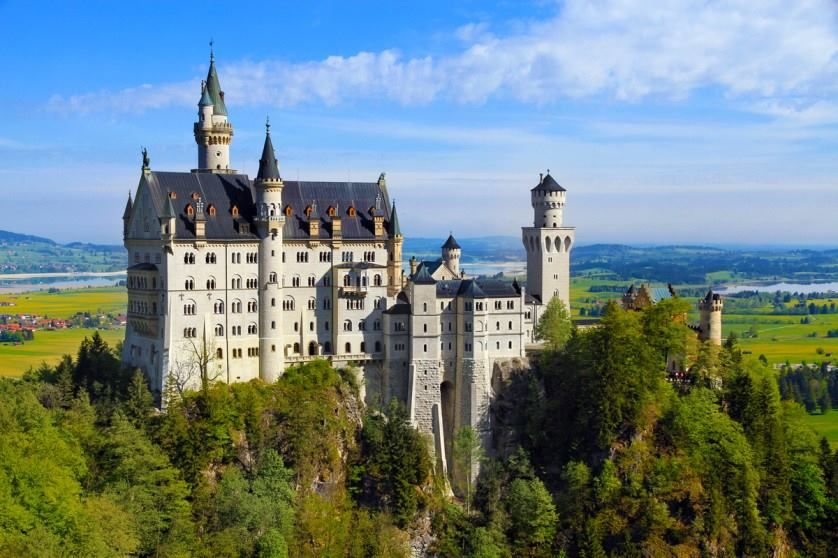 Castillo de Neuschwanstein, Alemania.
