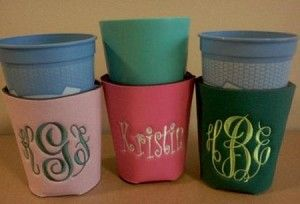 solo cup koozie!
