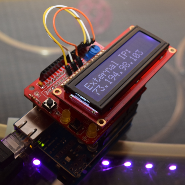 An Arduino Device That Monitors Your External IP Address
