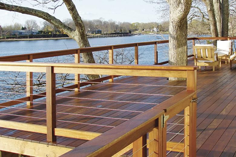 HandiSwage™ Cable Railing = this to redo the back deck
