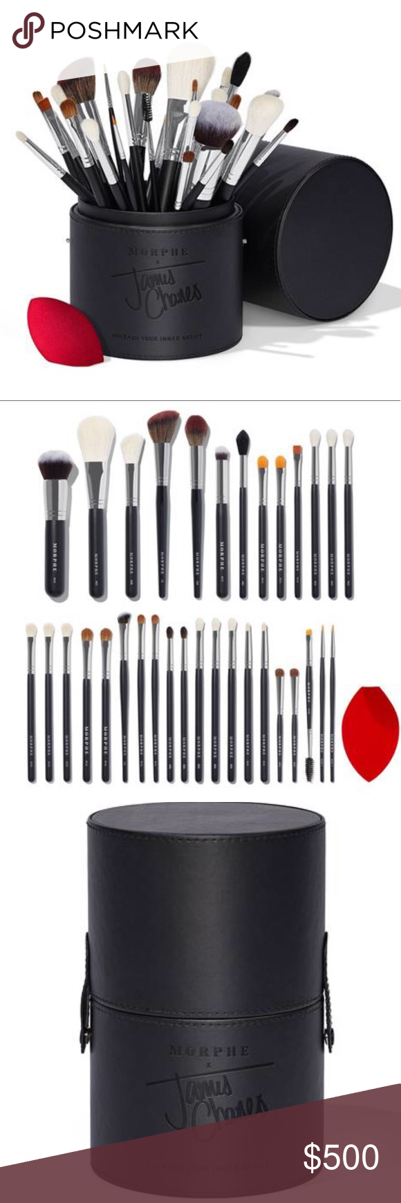 Morphe X James Charles Brush Set NIB AUTHENTIC SOLD OUT