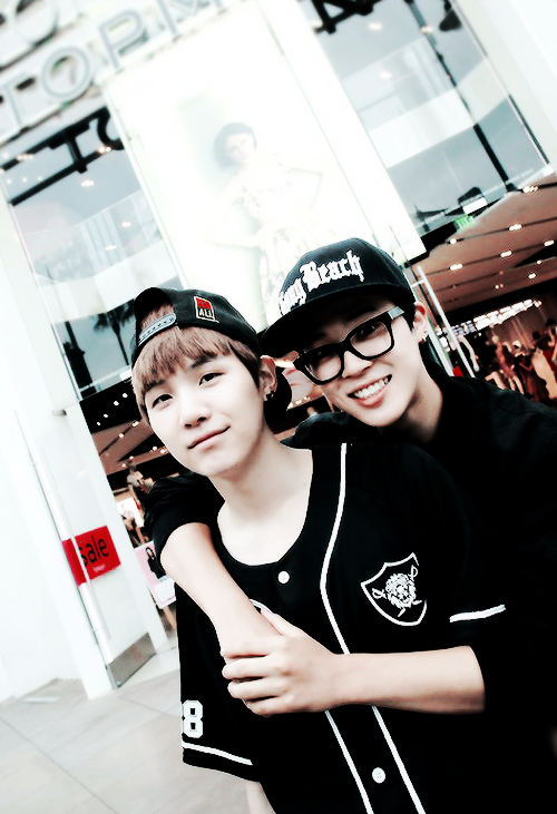 Suga & Jimin / via Tumblr | K-Pop  because you can never have enough