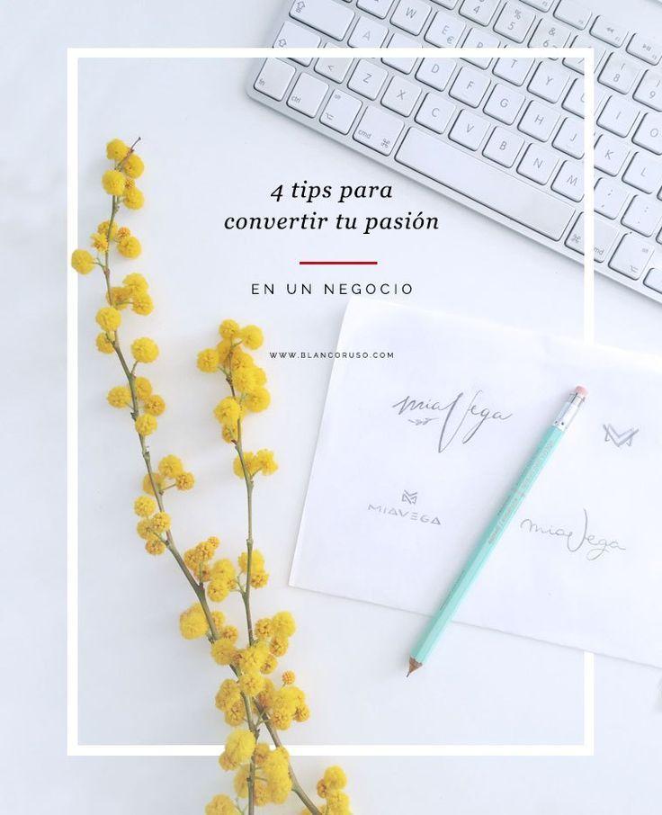 ¿Quieres vivir de tu pasión pero no sabes cómo? Aquí, 4 tips para emprender o cambiar de arriba a abajo la esencia de tu negocio