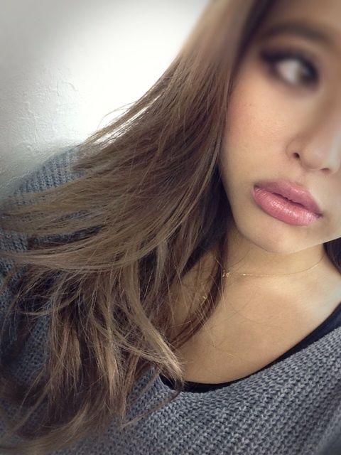 maiko sano - ash brown hair