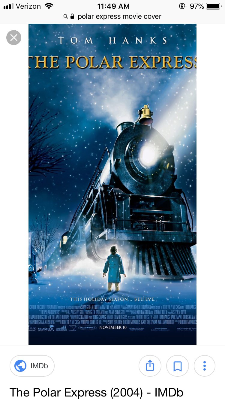 Pin by Kathryn Berger on Movies Polar express movie