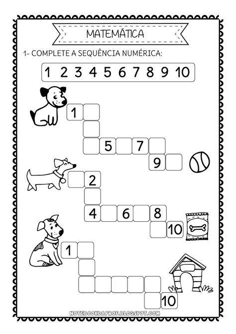NÚMEROS+1+A+10-03.png (1131×1600) | Hojas de Trabajo | Pinterest ...