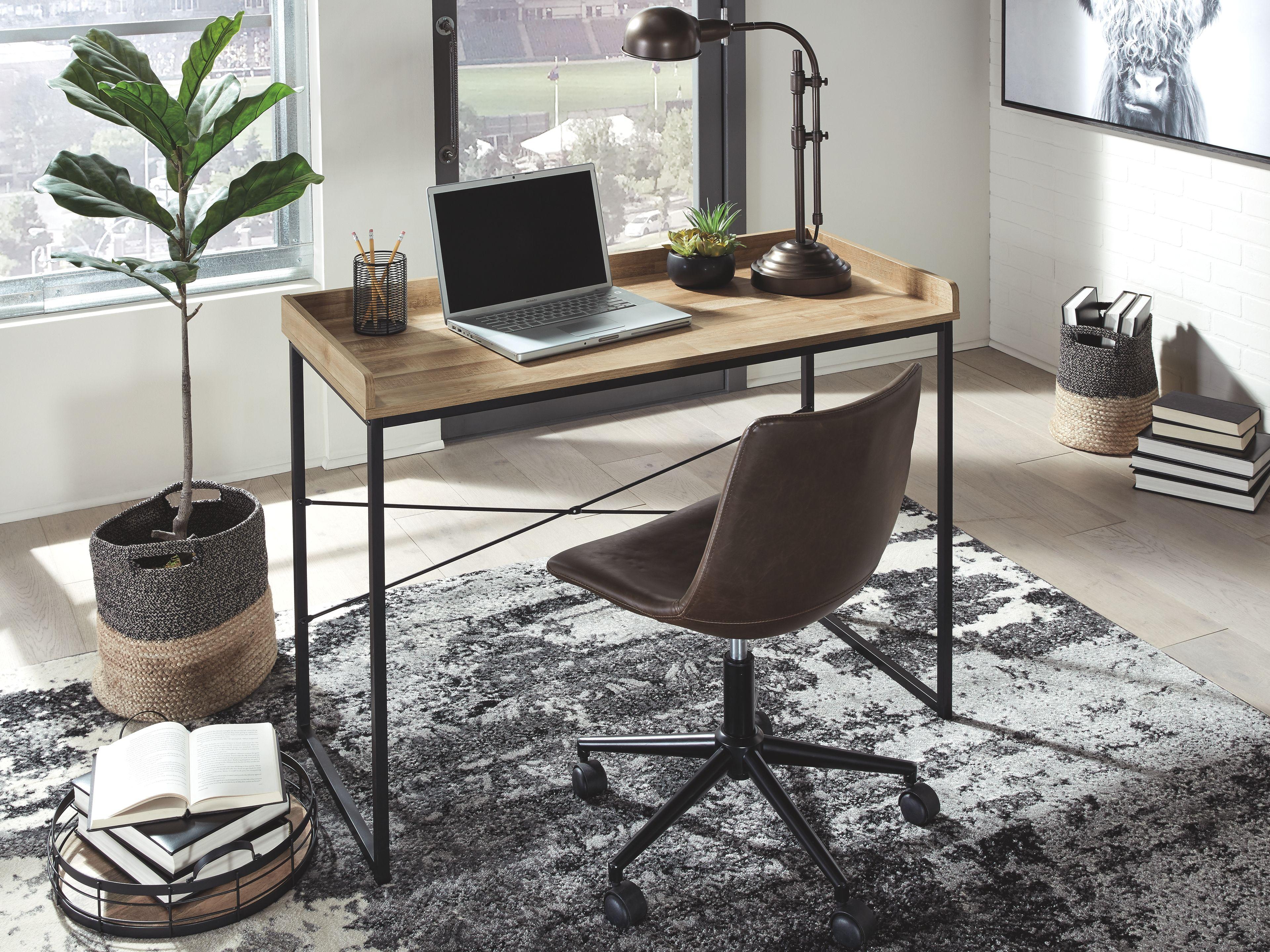 Gerdanet 43 Home Office Desk Ashley Furniture Homestore Home Office Furniture Desk Cheap Office Furniture Home Office Desks