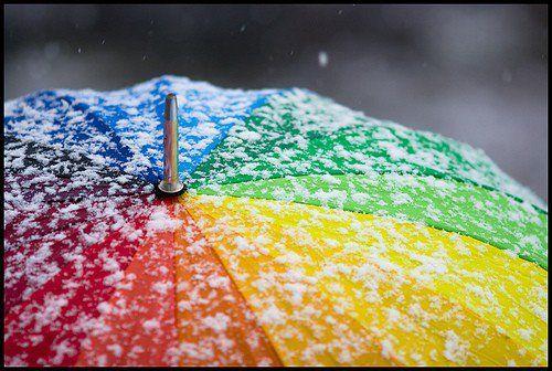 @Lola Milenkovic rainbows in the snow