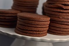 Gluten-free thin & crispy chocolate wafer cookies
