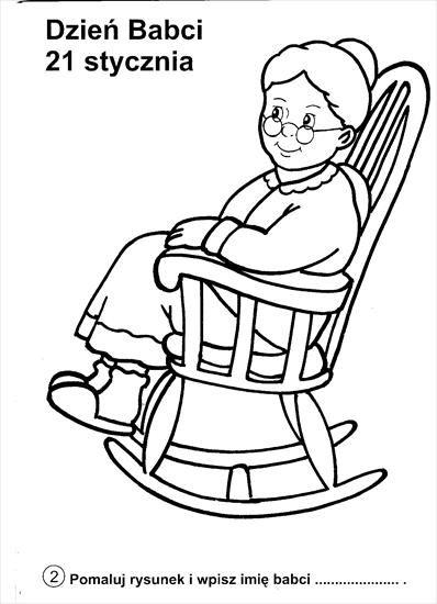 dzień babci | Opa en oma | Pinterest | Ausmalbilder, Zeichnungen und ...