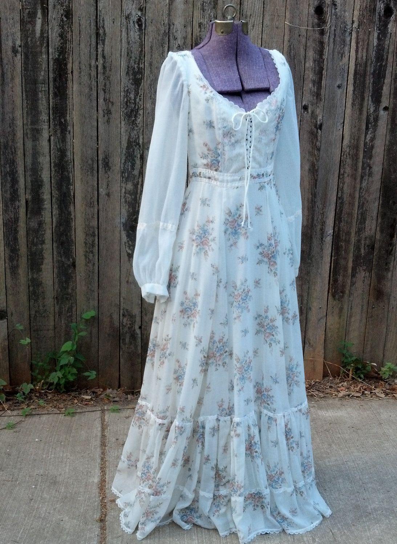 Peanut Butter Macramé: The Gunny Sax Dress   clothes shopping ...