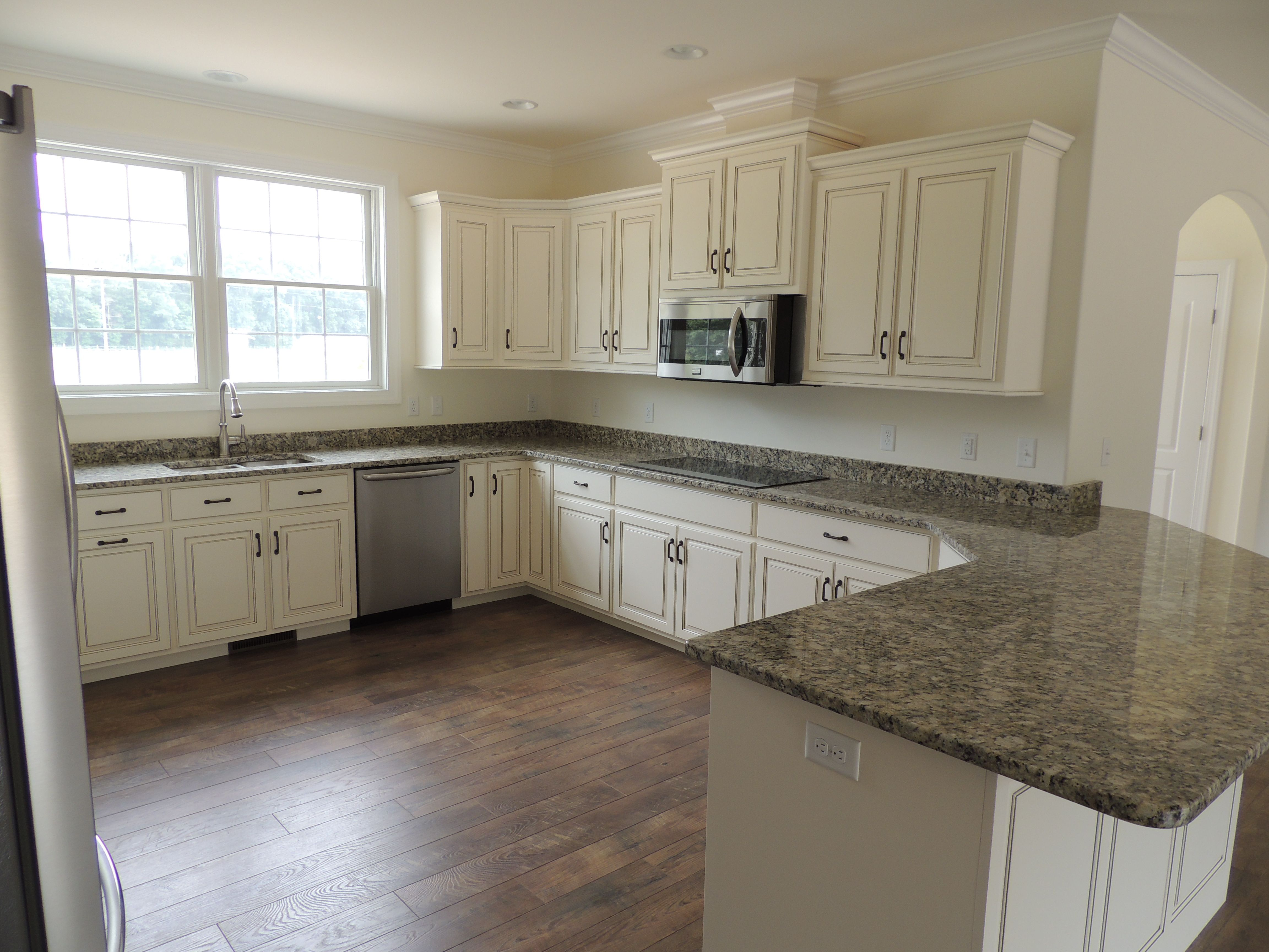 Gorgeous hand painted cabinetry! - Bay to Beach Builders ...