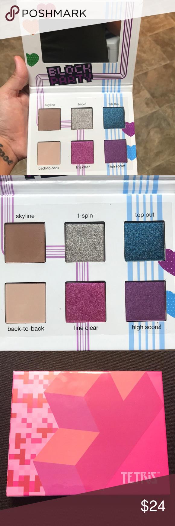 e4da7a1dcf42 TETRIS x Ipsy block party makeup palette NEW Beautiful palette just ...