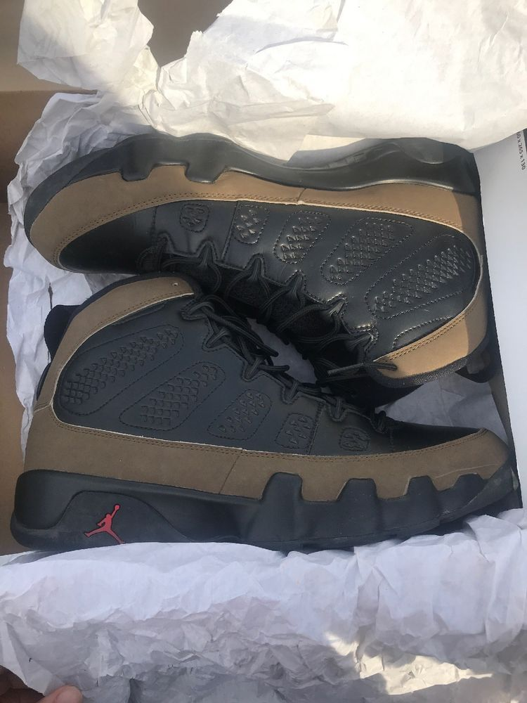 the best attitude 59f0f f195f Air Jordan Retro 9 Olive SIZE 11.5 (2012)  fashion  clothing  shoes