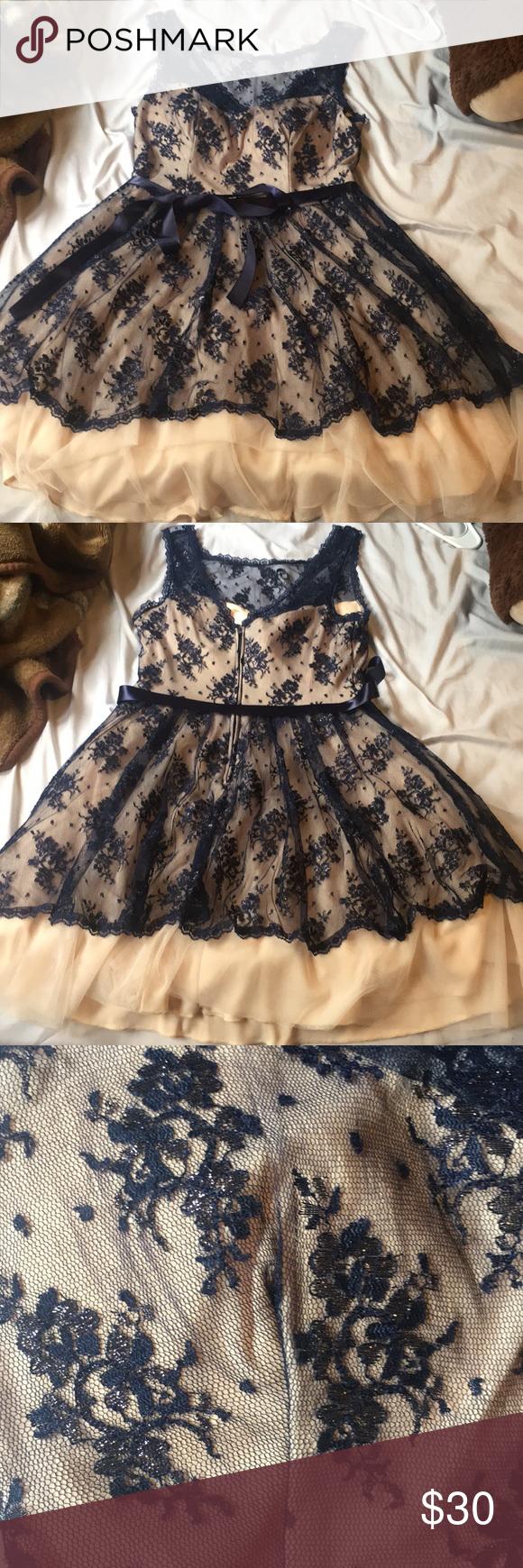 B darlin prom dress my posh picks pinterest blue ribbon