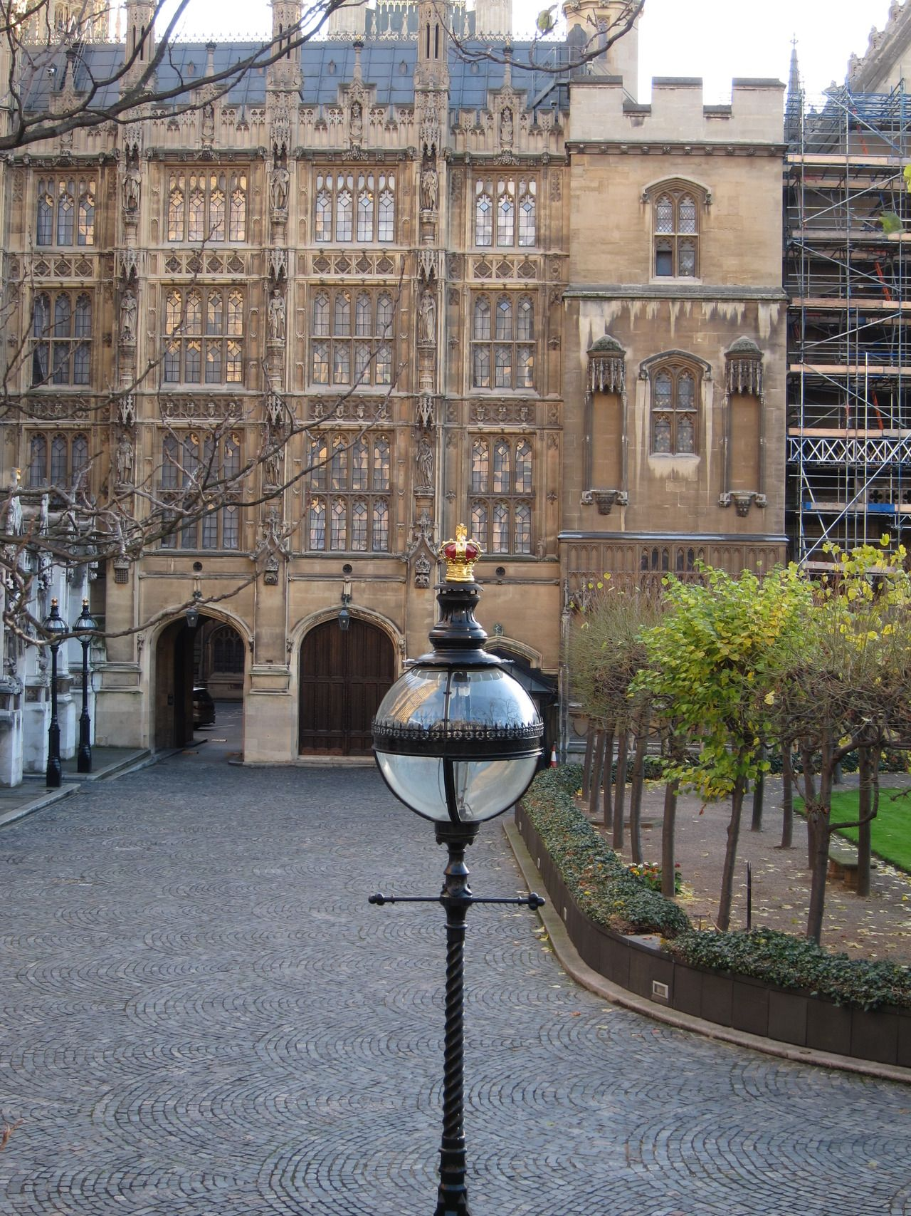 Lamp At The Houses Of Parliament Westminster London London