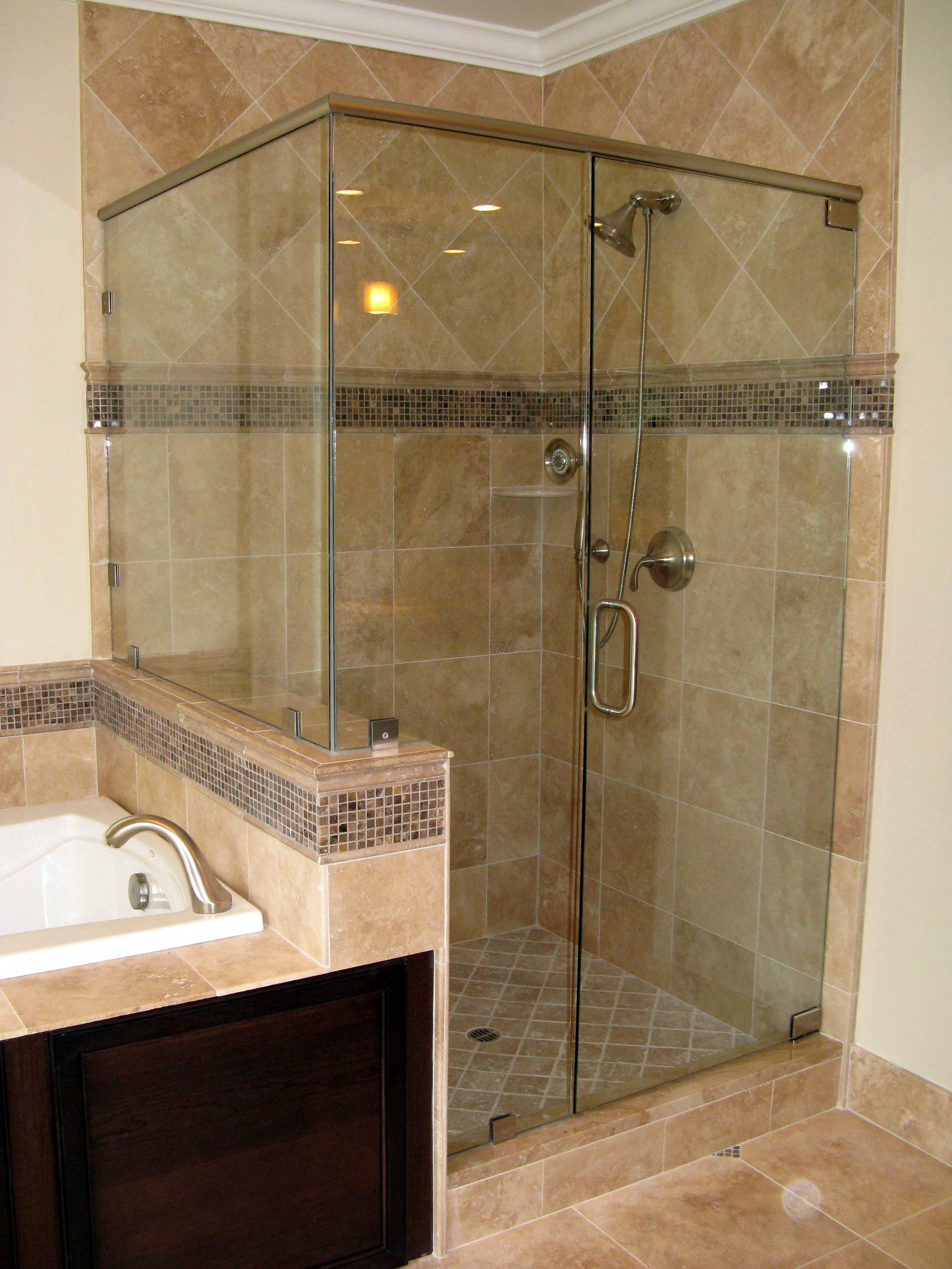 Glass shower wall | Home Design | Pinterest | Walls, House and ...