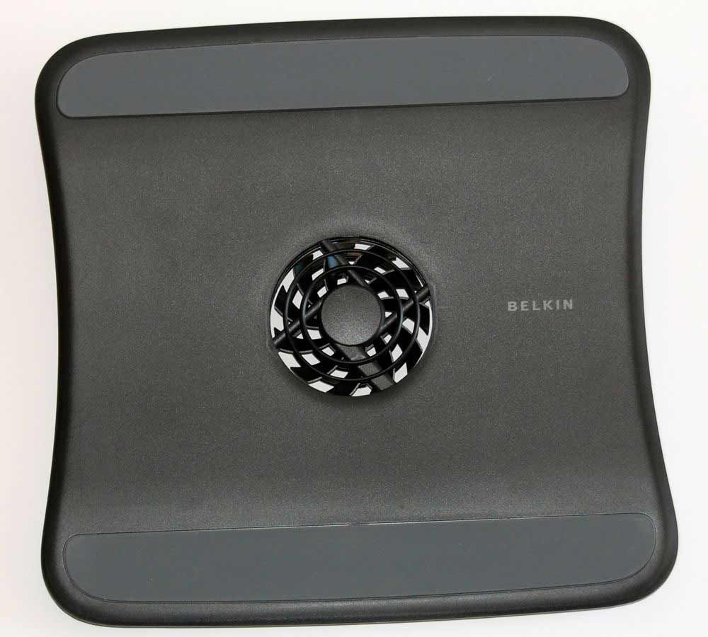 Belkin Charcoal Laptop Pads With Center Cooling Fan Office Supplies Laptop Cooling Fan