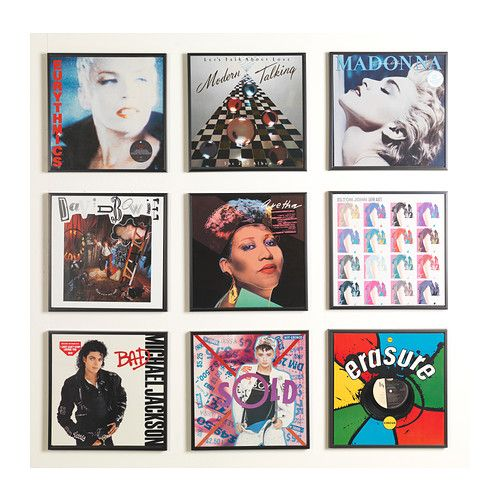 GLADSAX Frame IKEA Decorate your walls with your favorite albums ...