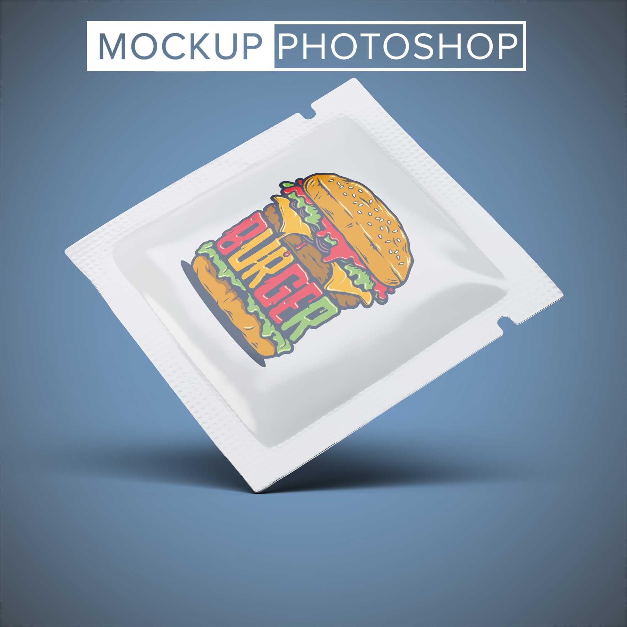 Latest Square Pouch Sachet Mockup Business Card Mock Up Logo Design Mockup Free Logo Mockup
