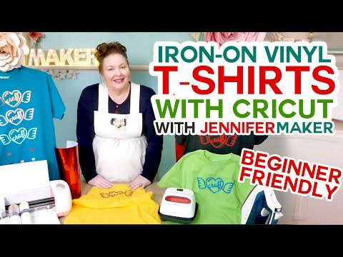 Cricut IronOn TShirt Tutorial Beginner Friendly