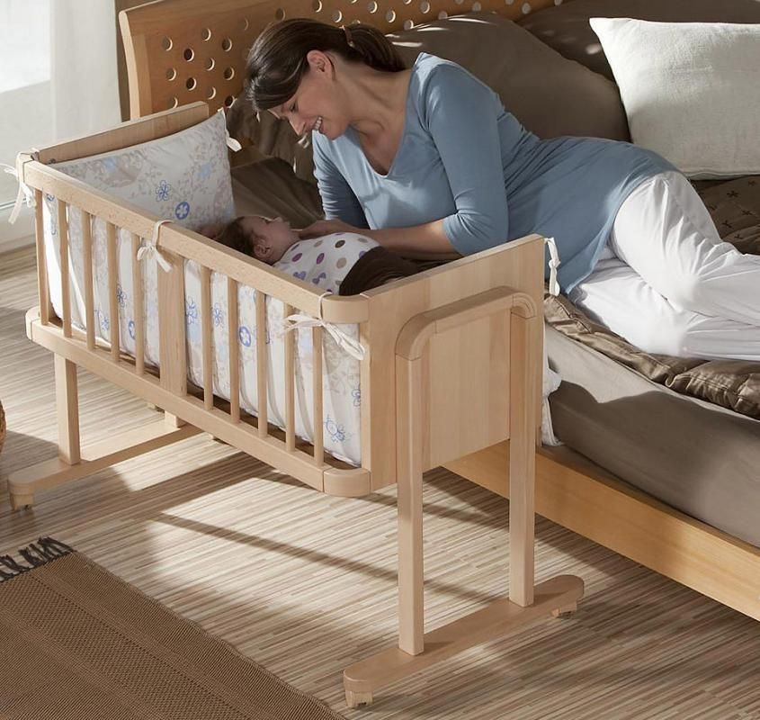 Geuther Aladin Bedside Sleeper Crib