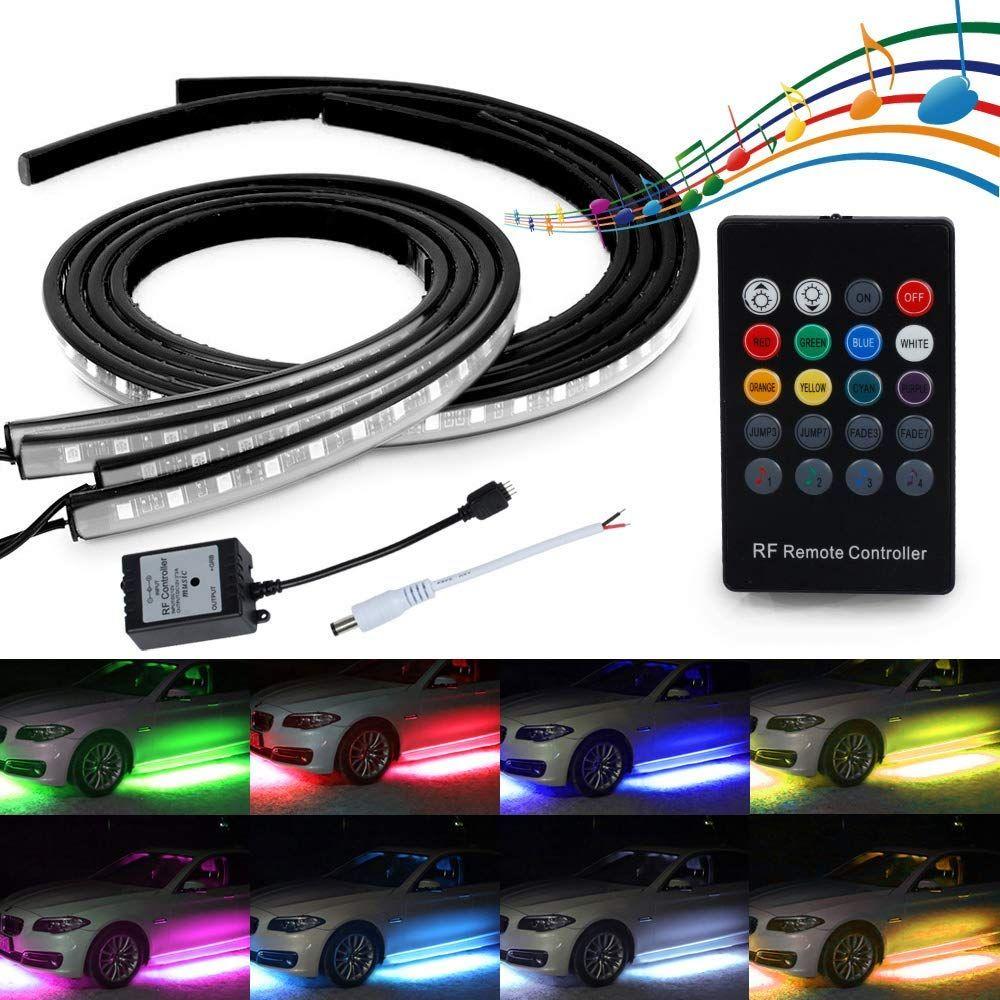 Led Neon Underglow Light Mihaz 4pcs High Intensity