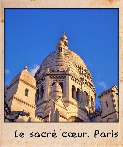 Le sacré coeur, Paris