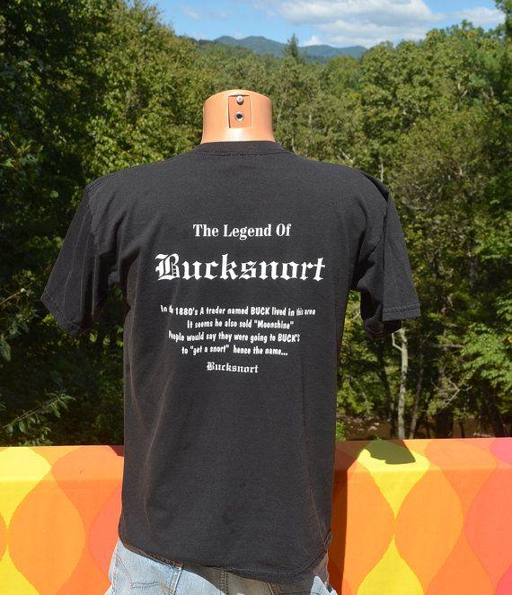 dd0d213da 90s vintage tee shirt BUCKSNORT tennessee legend moonshine deer t ...