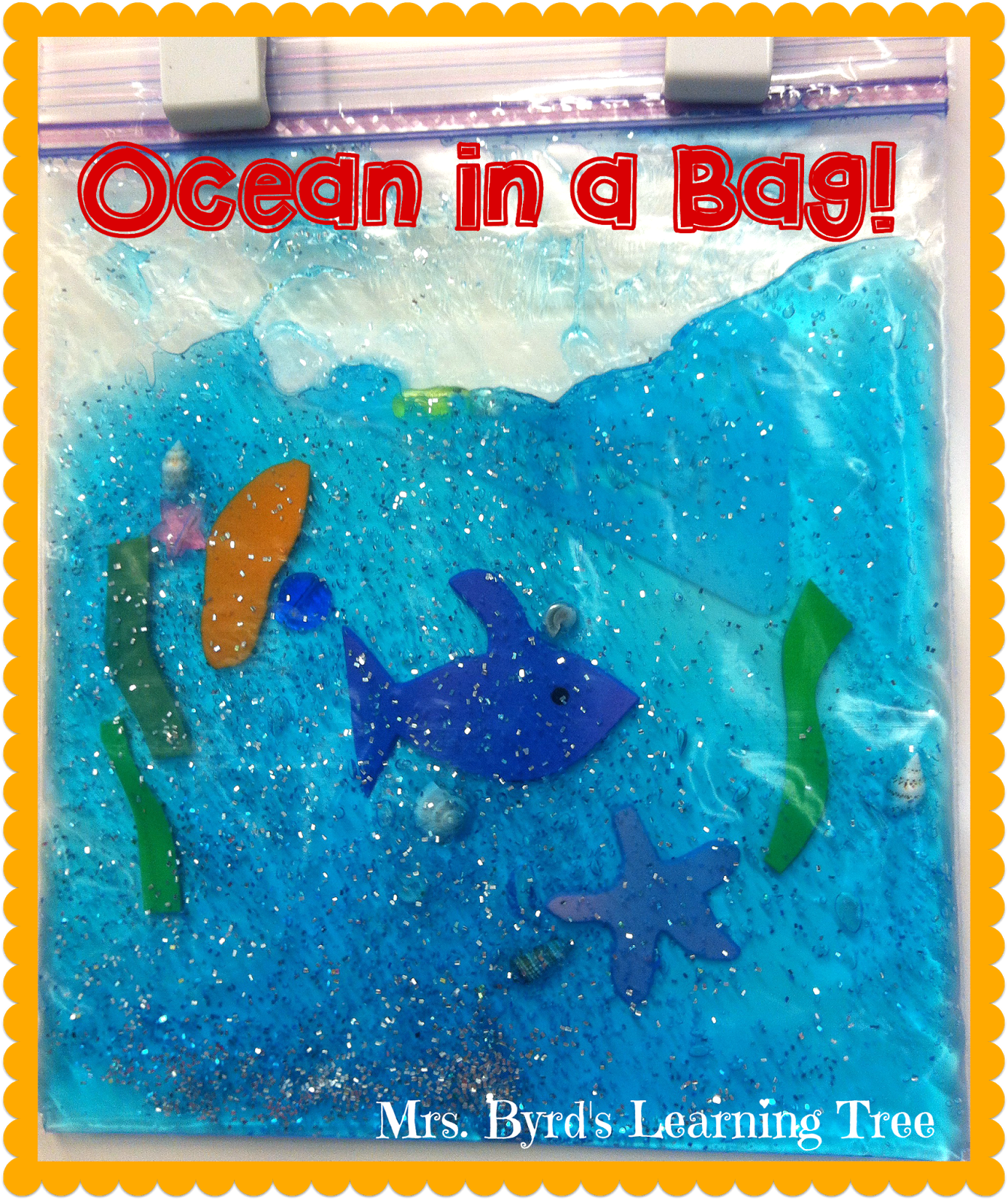 ocean foil painting for toddlers and preschoolers tape a piece of