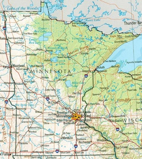 site to get a map of any state