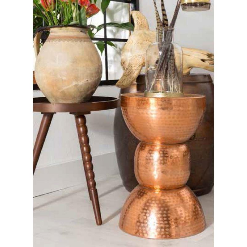 Zuiver Warung Stool Hocker Beistelltisch Kupfer India Haben