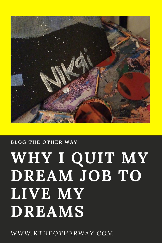 In 2019, I left my