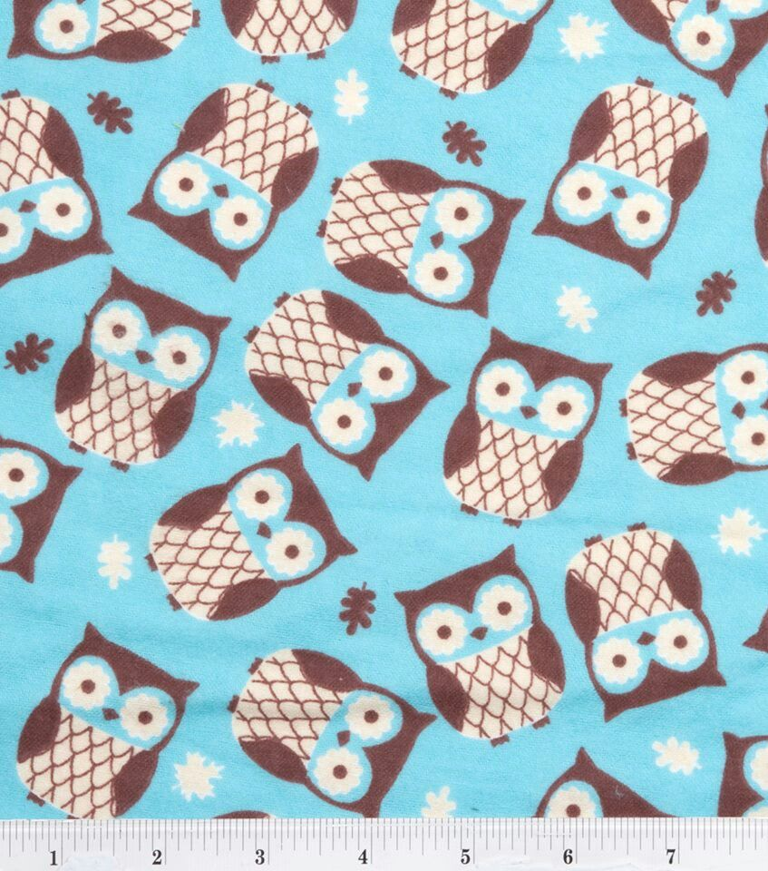 joann fabrics owl fleece fabric fleece pinterest fabric