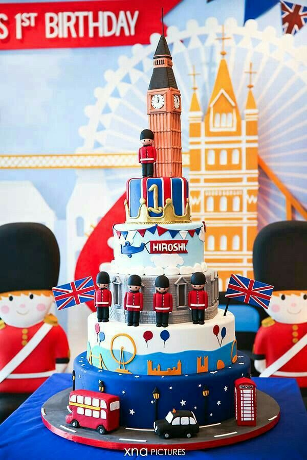 Ingles | London party in 2019 | British cake, London cake, British ...