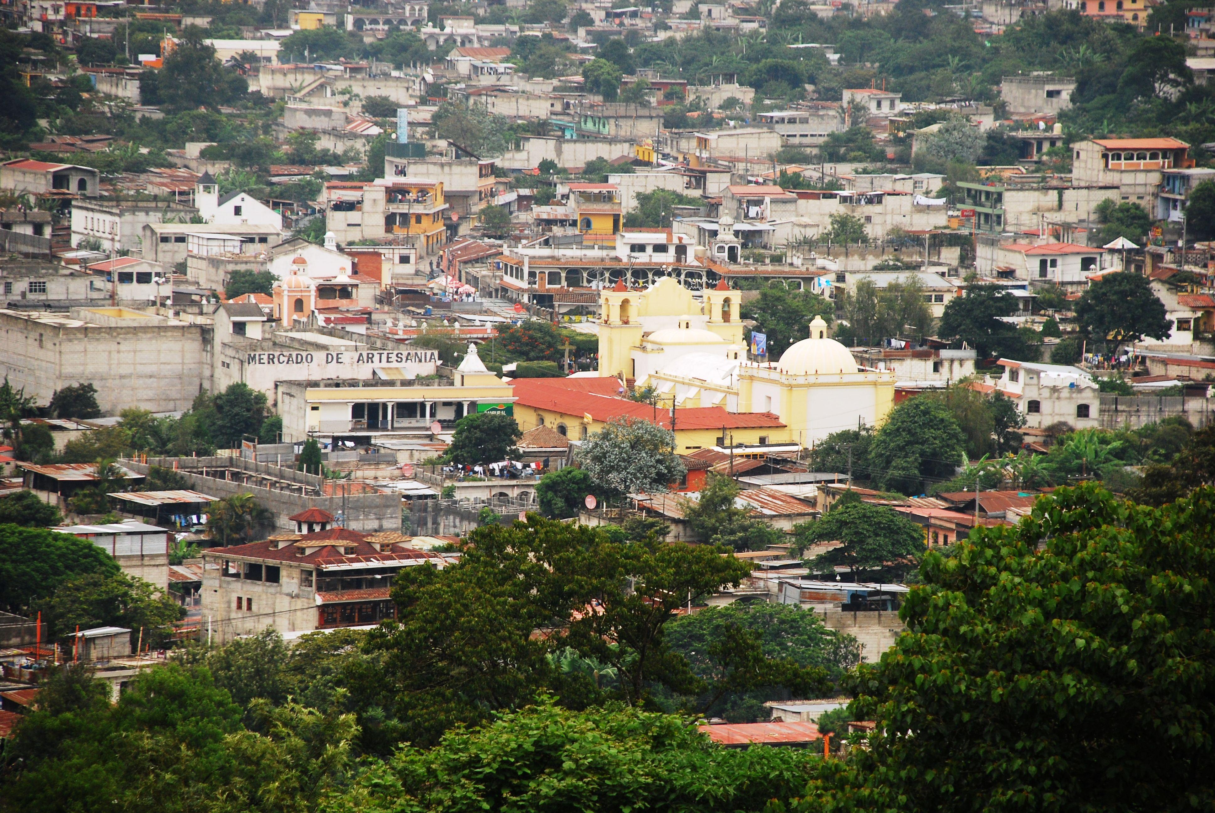 San Antonio Aguas Calientes en el Departamento de Sacatepéquez ...