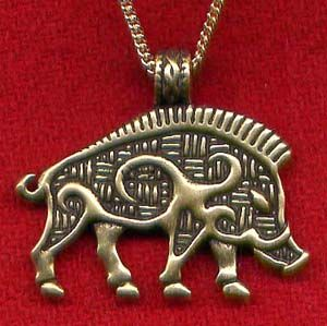 I know this bronze boar ($20.00) is Celtic, but I want something like this from these peoples... MY peoples :-)