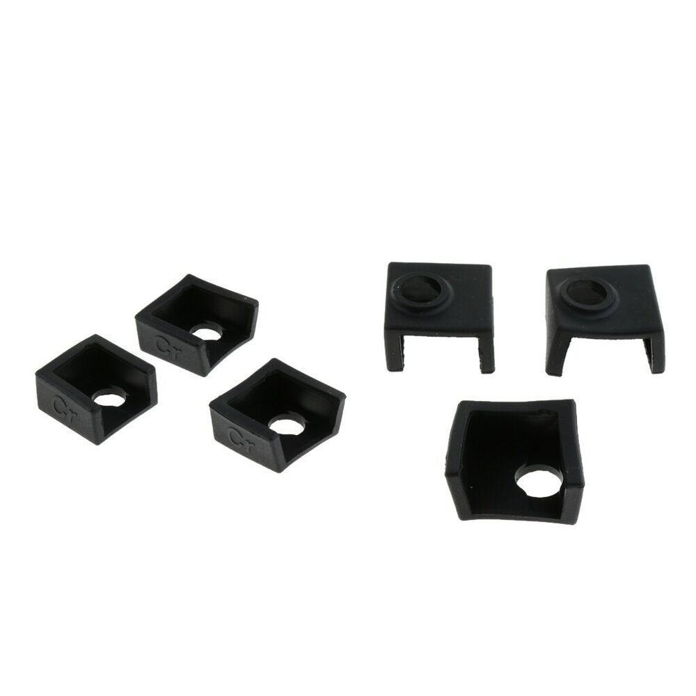Durable Heater Block Silicone Cover 0.4mm Nozzles For Creality CR-10//Ender 3 Set