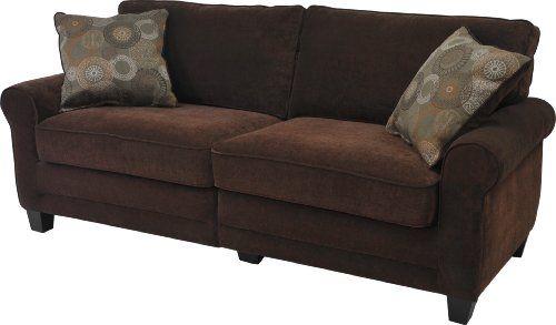 Serta CR-43540PB Trinidad Collection 78inch Deluxe Sofa, Chocolate Fabric Serta http://www.amazon.com/dp/B00EUU5LA0/ref=cm_sw_r_pi_dp_hkyUtb0B88G80SNJ