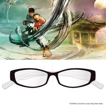 picture of Street Fighter V Gaming Glasses - Ryu Model 9